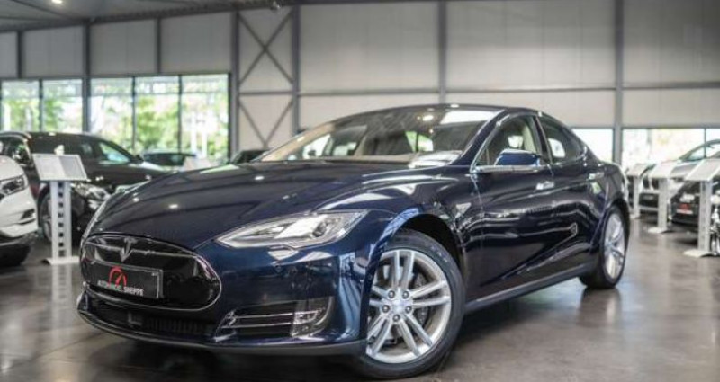 Tesla Model S 60D Bleu occasion à Maldegem