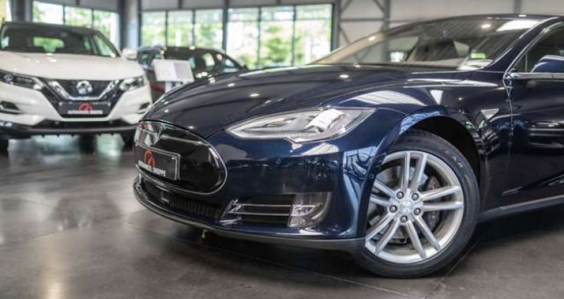 Tesla Model S 60D Bleu occasion à Maldegem - photo n°7