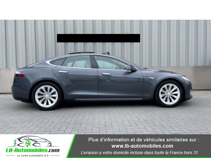 Tesla Model S 70 Gris occasion à Beaupuy - photo n°4