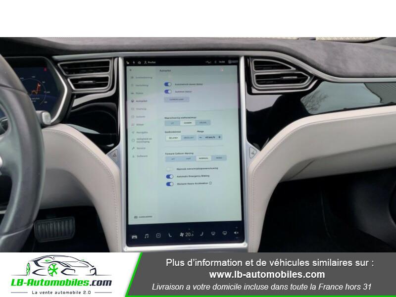 Tesla Model S 70 Gris occasion à Beaupuy - photo n°9