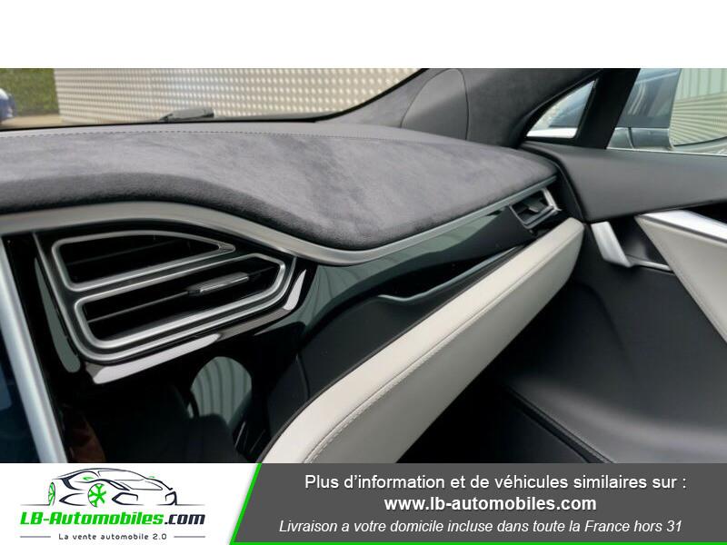 Tesla Model S 70 Gris occasion à Beaupuy - photo n°15
