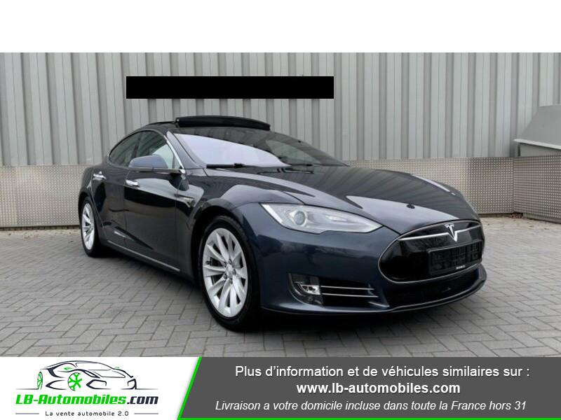 Tesla Model S 70 Gris occasion à Beaupuy - photo n°3