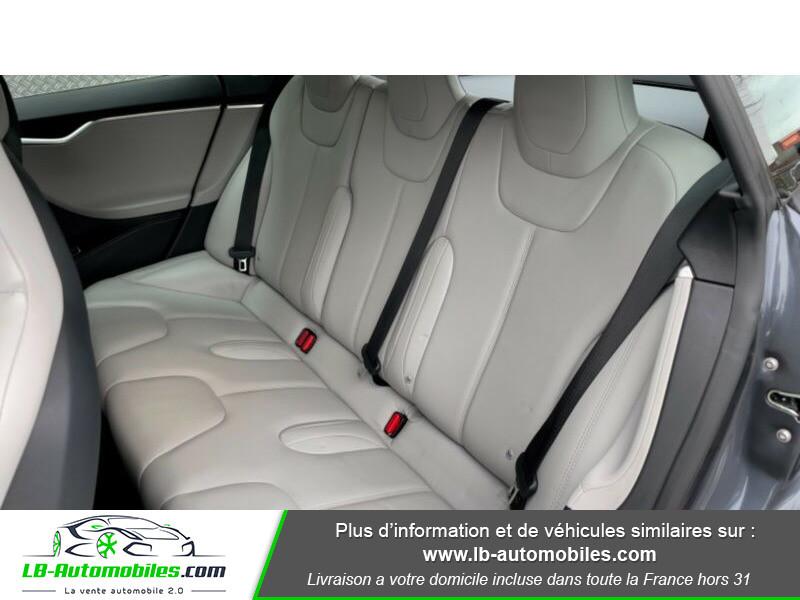 Tesla Model S 70 Gris occasion à Beaupuy - photo n°12