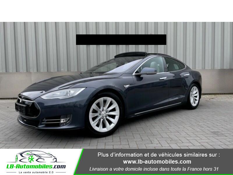 Tesla Model S 70 Gris occasion à Beaupuy