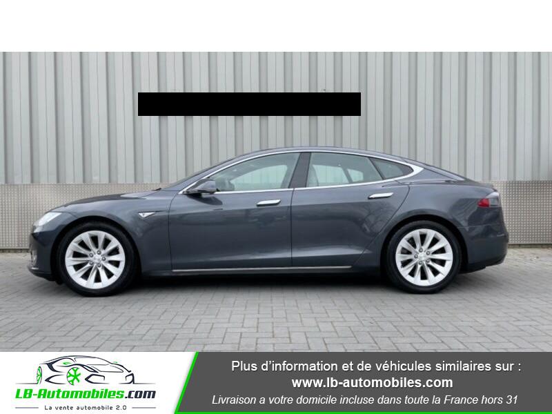 Tesla Model S 70 Gris occasion à Beaupuy - photo n°6