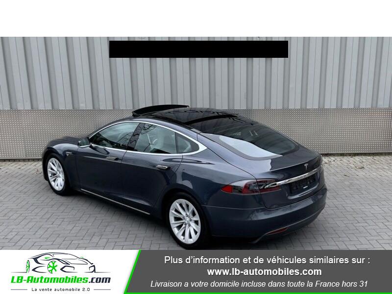 Tesla Model S 70 Gris occasion à Beaupuy - photo n°2