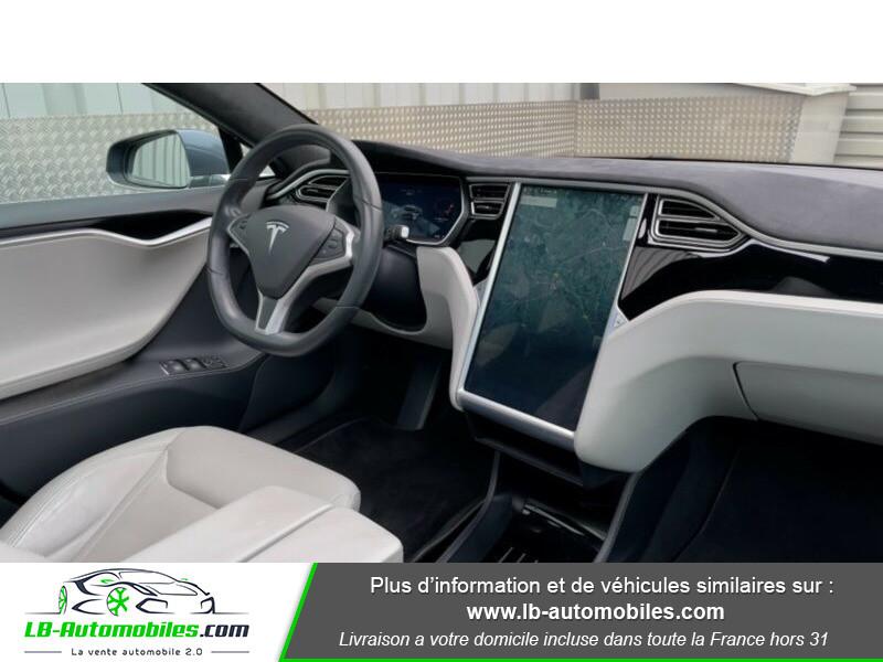Tesla Model S 70 Gris occasion à Beaupuy - photo n°7