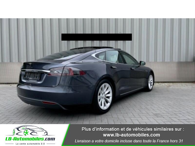 Tesla Model S 70 Gris occasion à Beaupuy - photo n°5