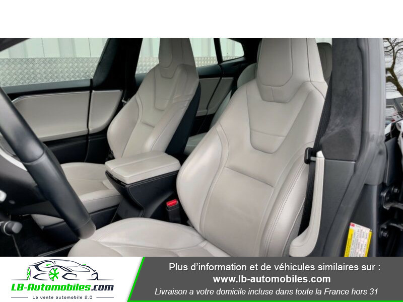 Tesla Model S 70 Gris occasion à Beaupuy - photo n°10