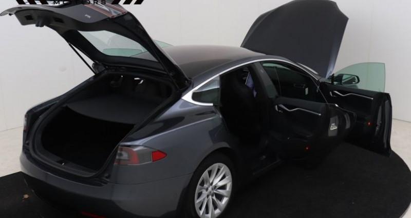 Tesla Model S 75 - LEDER NAVIGATIE PANODAK Gris occasion à Brugge - photo n°2