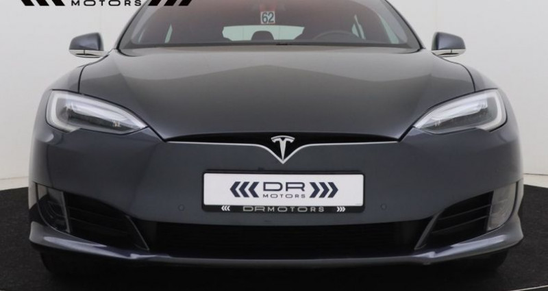 Tesla Model S 75 - LEDER NAVIGATIE PANODAK Gris occasion à Brugge - photo n°5