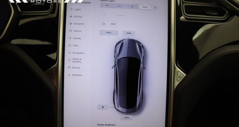 Tesla Model S 75 - LEDER NAVIGATIE PANODAK Gris occasion à Brugge - photo n°4