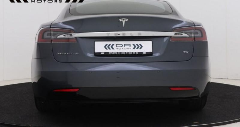 Tesla Model S 75 - LEDER NAVIGATIE PANODAK Gris occasion à Brugge - photo n°6
