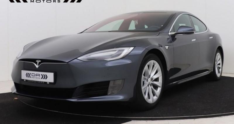 Tesla Model S 75 - LEDER NAVIGATIE PANODAK Gris occasion à Brugge