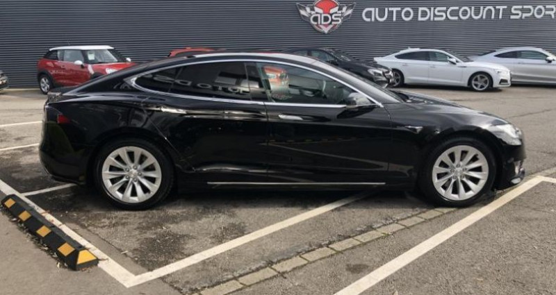 Tesla Model S 75D DUAL MOTOR Noir occasion à FOETZ - photo n°4