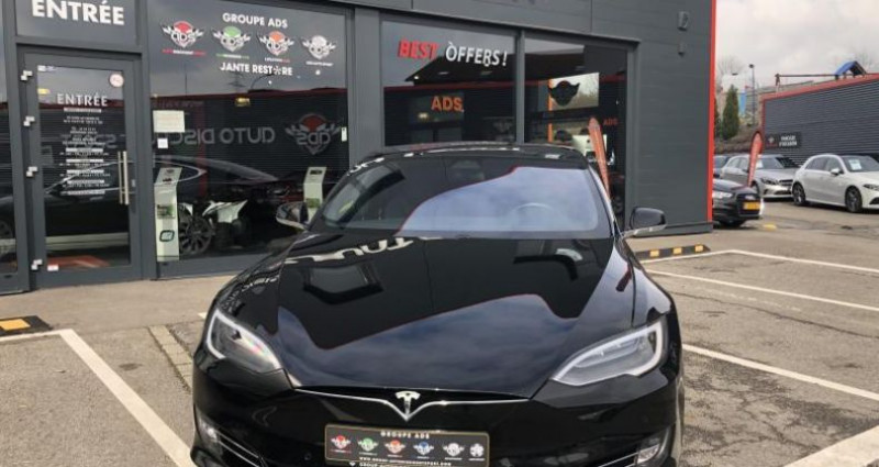 Tesla Model S 75D DUAL MOTOR Noir occasion à FOETZ - photo n°5