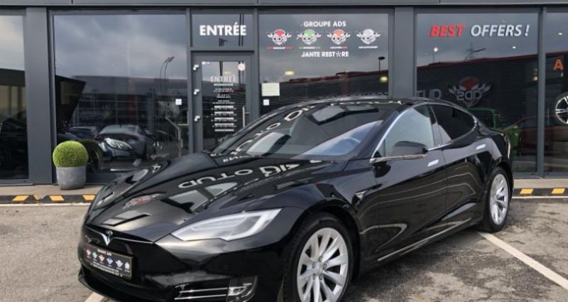 Tesla Model S 75D DUAL MOTOR Noir occasion à FOETZ