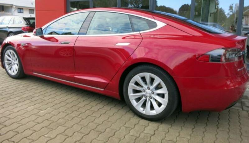 Tesla Model S 75D DUAL MOTOR Rouge occasion à Villenave-d'Ornon - photo n°2