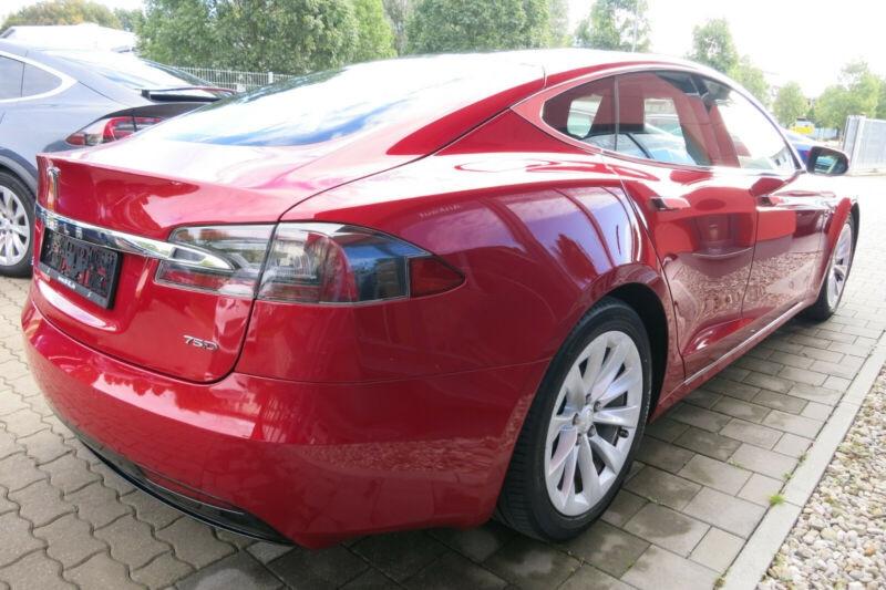 Tesla Model S 75D DUAL MOTOR Rouge occasion à Villenave-d'Ornon - photo n°3