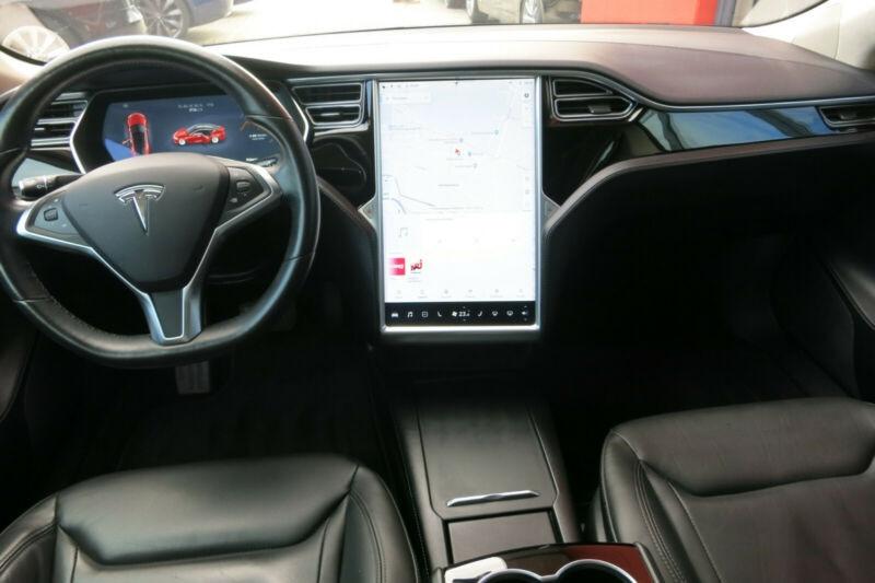 Tesla Model S 75D DUAL MOTOR Rouge occasion à Villenave-d'Ornon - photo n°9