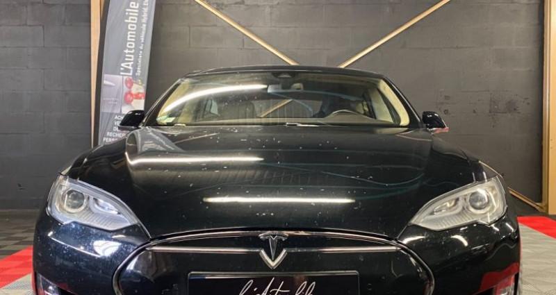 Tesla Model S 85 kWh 5p Noir occasion à MERY-SUR-OISE - photo n°4