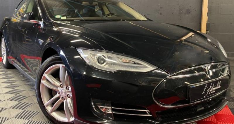 Tesla Model S 85 kWh 5p Noir occasion à MERY-SUR-OISE - photo n°3