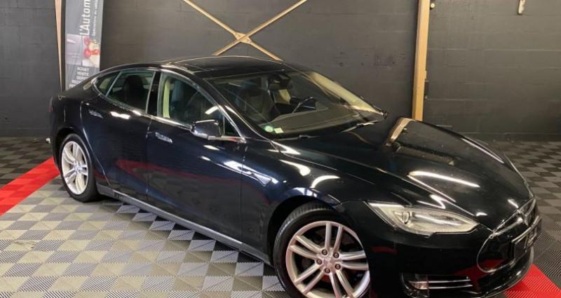 Tesla Model S 85 kWh 5p Noir occasion à MERY-SUR-OISE