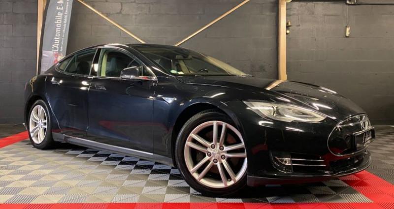 Tesla Model S 85 kWh 5p Noir occasion à MERY-SUR-OISE - photo n°2