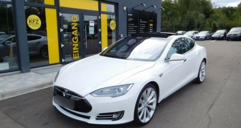 Tesla Model S 85 kWh Dual Motor 5p Blanc occasion à Boulogne-Billancourt