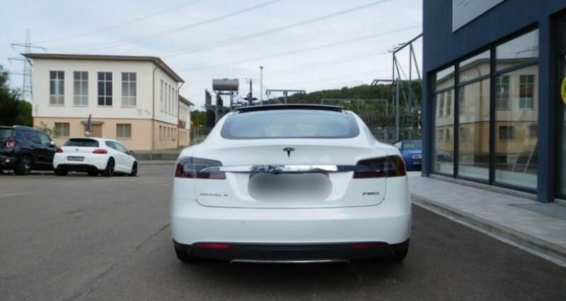 Tesla Model S 85 kWh Dual Motor 5p Blanc occasion à Boulogne-Billancourt - photo n°4