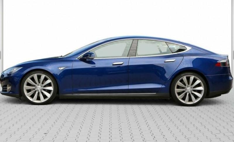 Tesla Model S 85 KWH DUAL MOTOR 5P Bleu occasion à Villenave-d'Ornon - photo n°6
