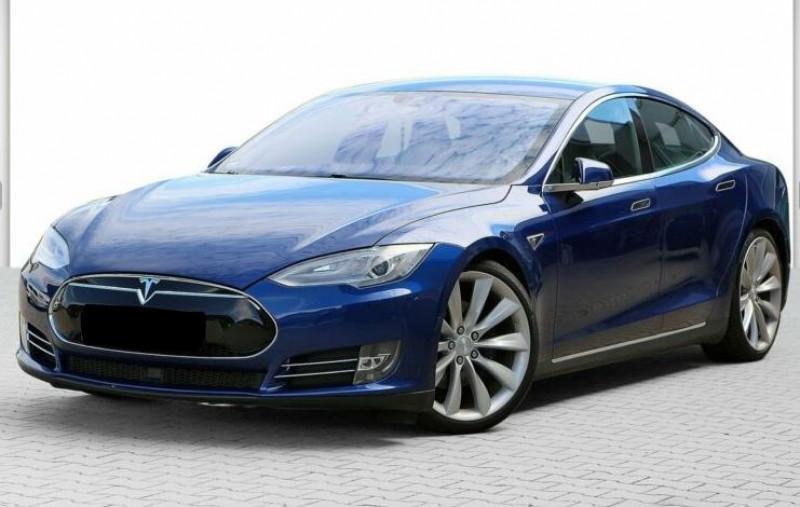 Tesla Model S 85 KWH DUAL MOTOR 5P Bleu occasion à Villenave-d'Ornon