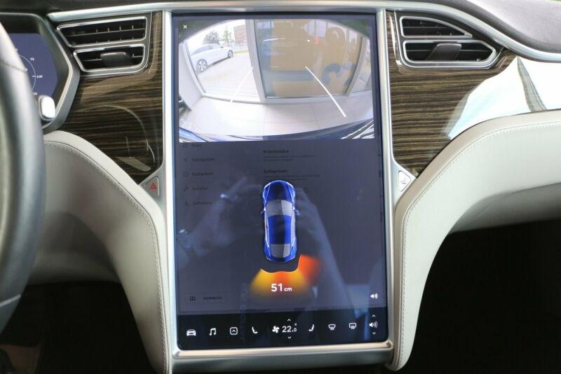Tesla Model S 85 KWH DUAL MOTOR 5P Bleu occasion à Villenave-d'Ornon - photo n°9