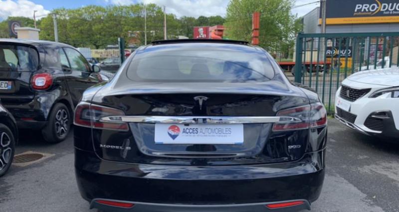 Tesla Model S 90D Dual Motor 525 ch Noir occasion à HERBLAY - photo n°7