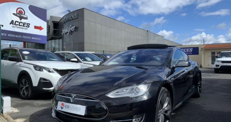 Tesla Model S 90D Dual Motor 525 ch Noir occasion à HERBLAY - photo n°2