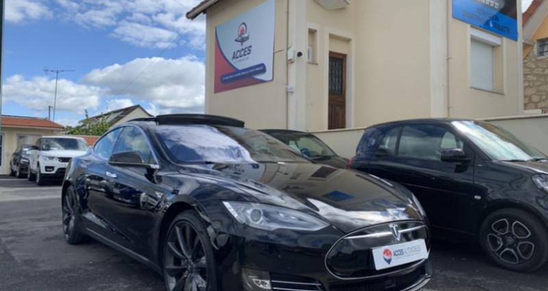 Tesla Model S 90D Dual Motor 525 ch Noir occasion à HERBLAY