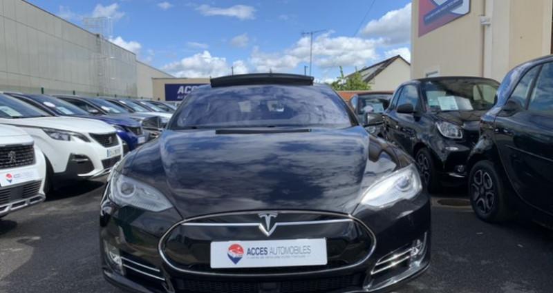 Tesla Model S 90D Dual Motor 525 ch Noir occasion à HERBLAY - photo n°5