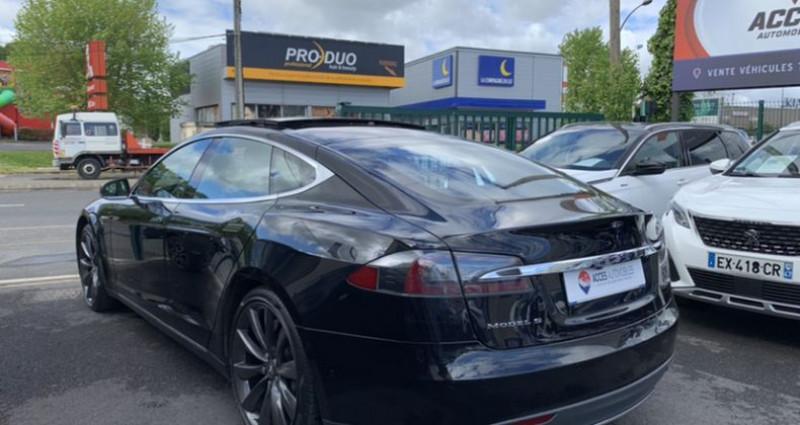 Tesla Model S 90D Dual Motor 525 ch Noir occasion à HERBLAY - photo n°4