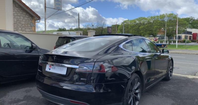 Tesla Model S 90D Dual Motor 525 ch Noir occasion à HERBLAY - photo n°3