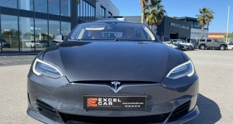 Tesla Model S 90D DUAL MOTOR  occasion à RIVESALTES - photo n°6