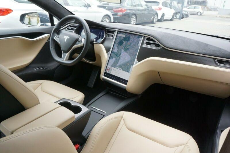 Tesla Model S 90D DUAL MOTOR Gris occasion à Villenave-d'Ornon - photo n°9