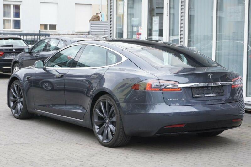 Tesla Model S 90D DUAL MOTOR Gris occasion à Villenave-d'Ornon - photo n°5