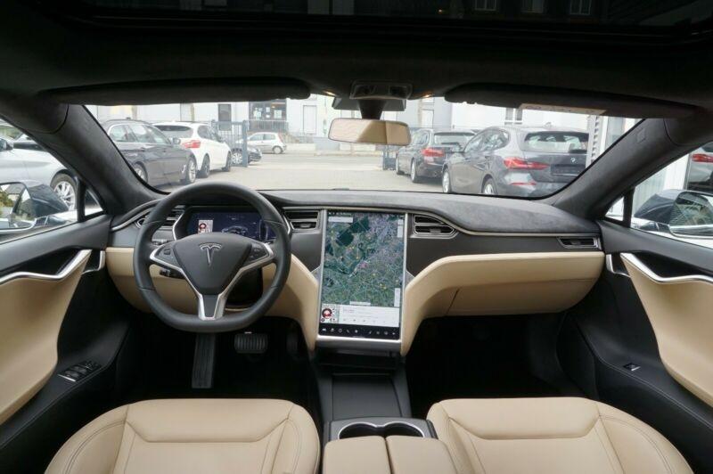 Tesla Model S 90D DUAL MOTOR Gris occasion à Villenave-d'Ornon - photo n°6