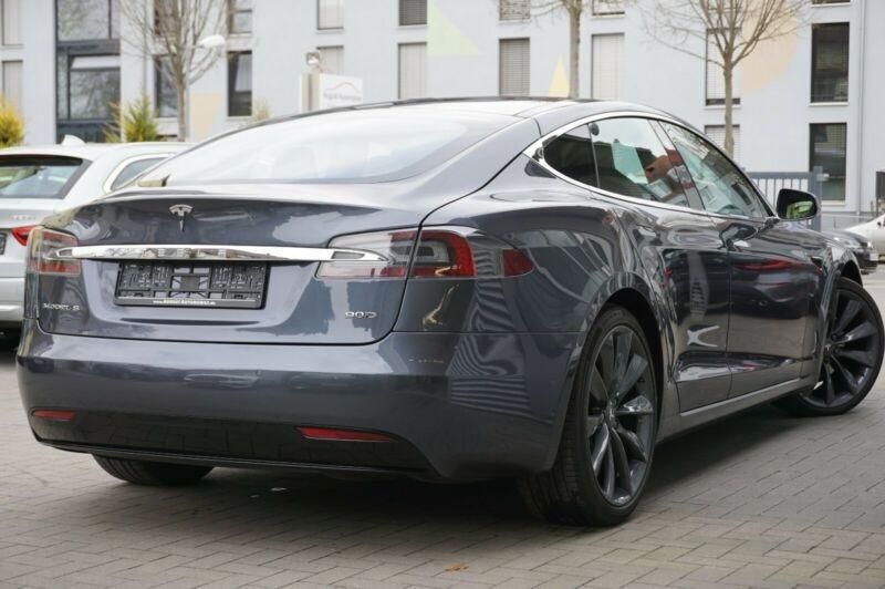 Tesla Model S 90D DUAL MOTOR Gris occasion à Villenave-d'Ornon - photo n°4