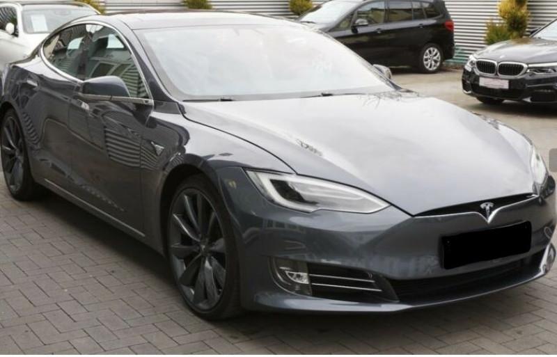 Tesla Model S 90D DUAL MOTOR Gris occasion à Villenave-d'Ornon - photo n°3