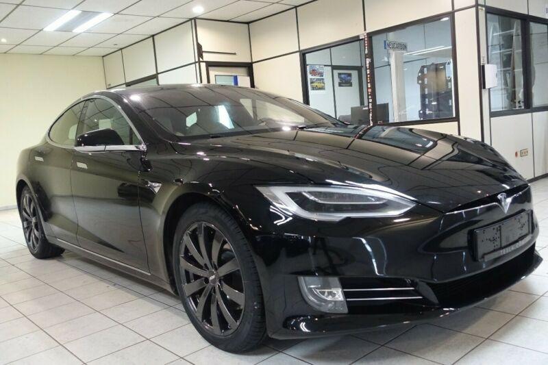 Tesla Model S LONG RANGE Noir occasion à Villenave-d'Ornon
