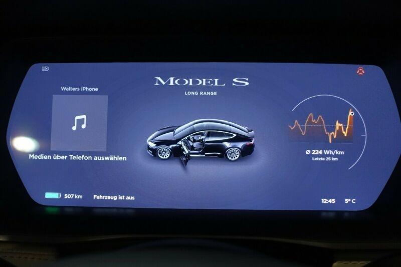 Tesla Model S LONG RANGE Noir occasion à Villenave-d'Ornon - photo n°7