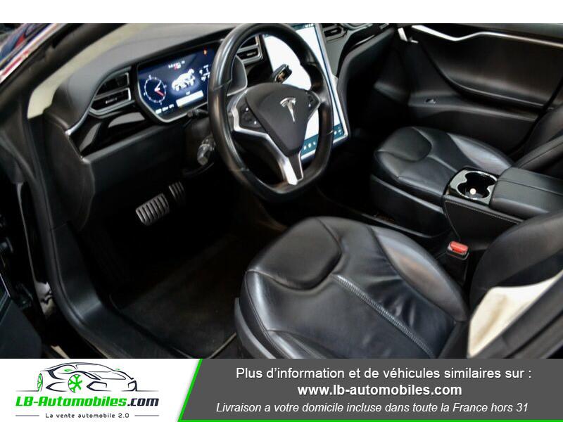 Tesla Model S P 85 7 p Noir occasion à Beaupuy - photo n°2