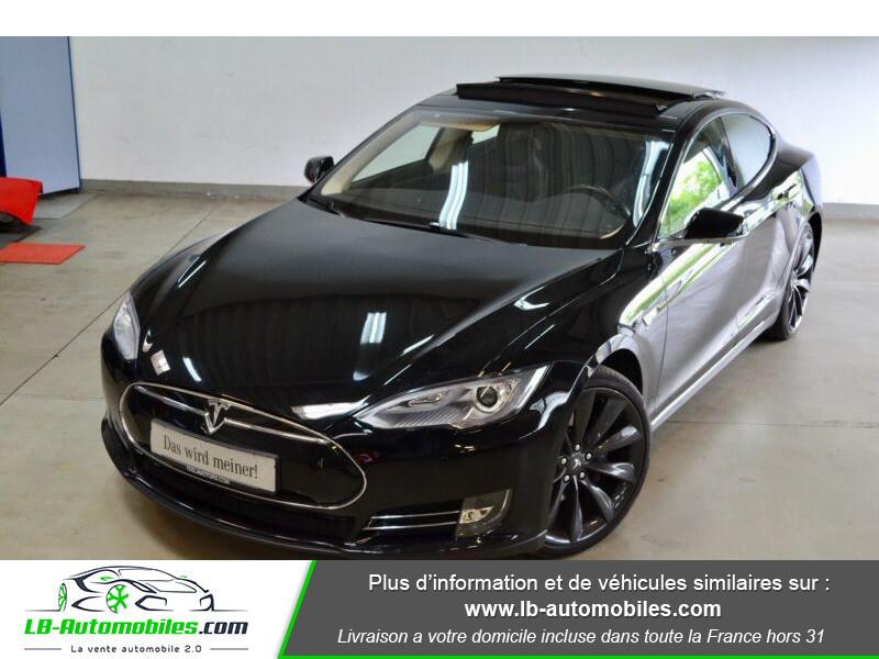 Tesla Model S P 85 7 p Noir occasion à Beaupuy