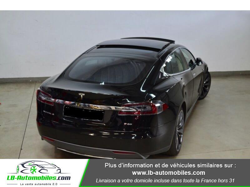 Tesla Model S P 85 7 p Noir occasion à Beaupuy - photo n°3